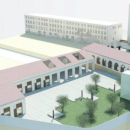 Un espai d'hostaleria en el Museu Tèxtil