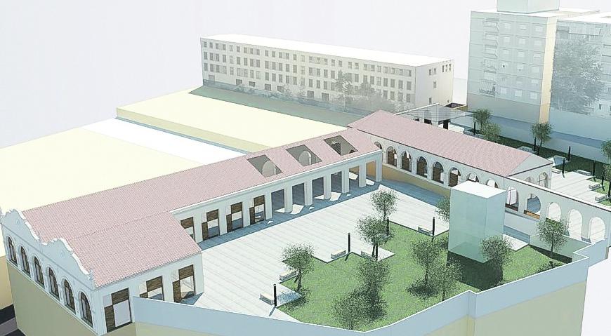 Un espai d'hostaleria en el Museu Tèxtil El Periòdic d'Ontinyent