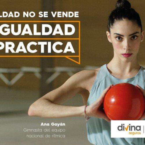 Divina Pastora lanza una campaña en materia de igualdad con las componentes de los equipos nacionales de rítmica y artística femenina