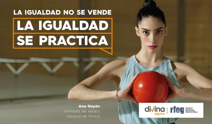 Divina Pastora lanza una campaña en materia de igualdad con las componentes de los equipos nacionales de rítmica y artística femenina El Periòdic d'Ontinyent