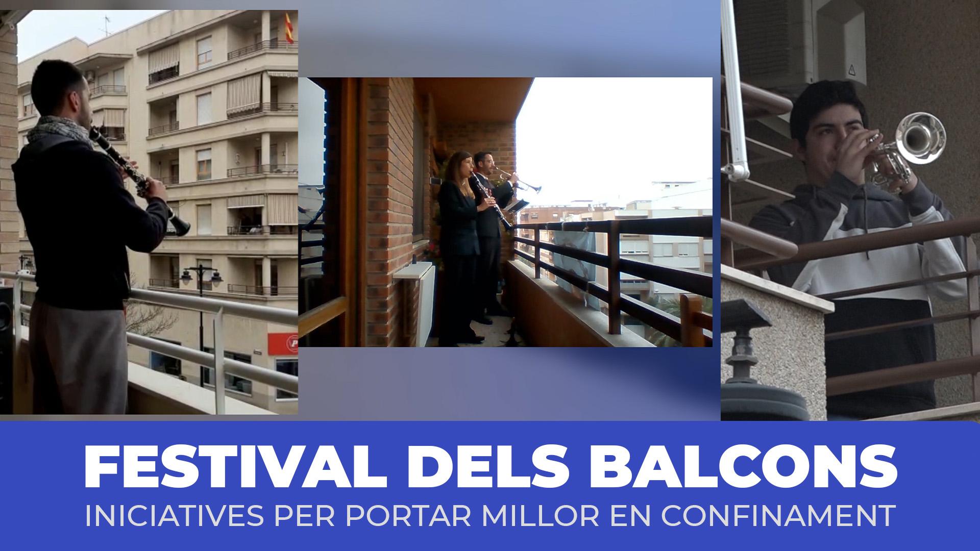 El balcons d'Ontinyent s'omplin de música El Periòdic d'Ontinyent