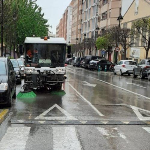 S'intensifica la neteja dels carrers i els edificis públics