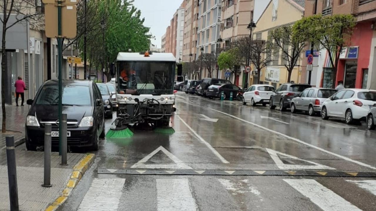 S'intensifica la neteja dels carrers i els edificis públics El Periòdic d'Ontinyent