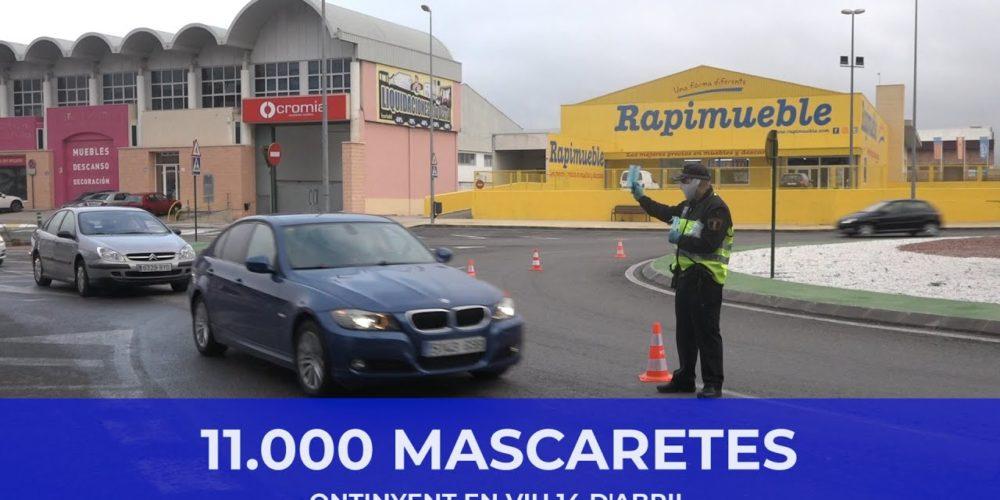 11.000 mascaretes – Ontinyent en viu 14 d'abril