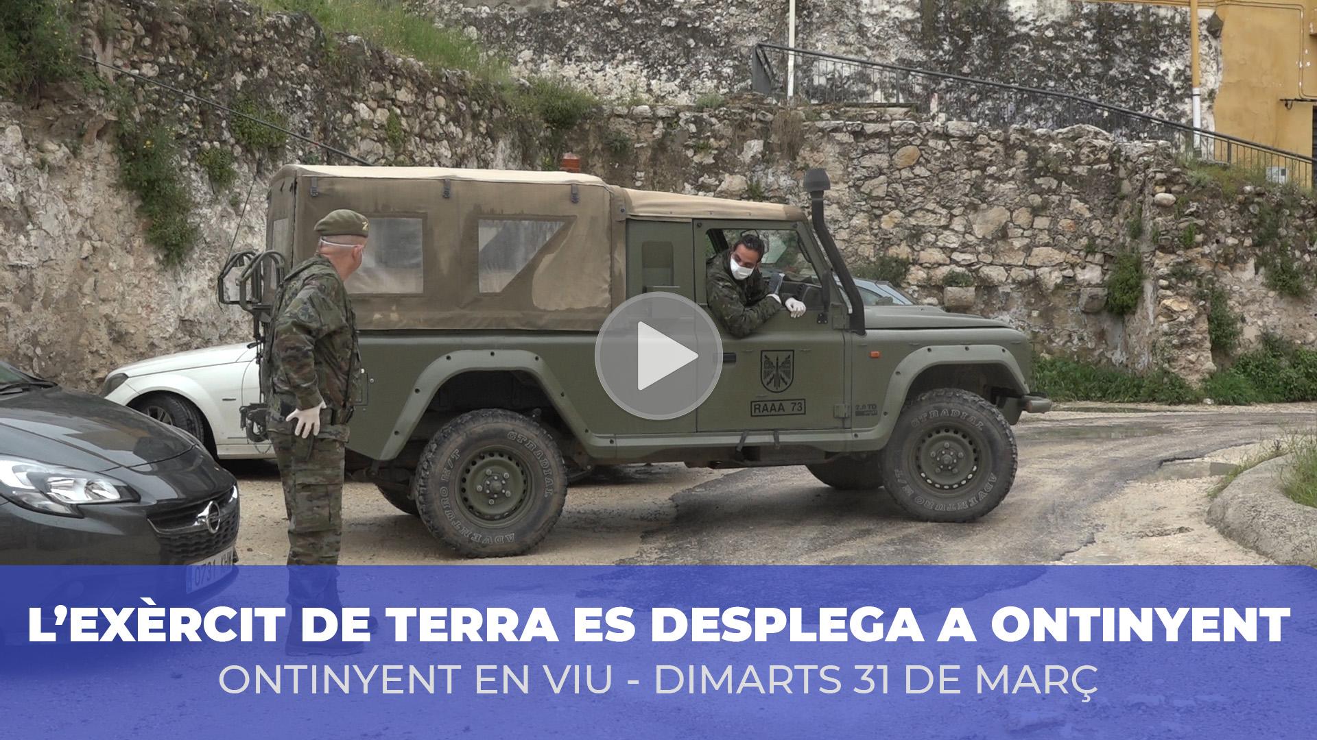 Un destacament militar reforça la seguretat a Ontinyent El Periòdic d'Ontinyent - Noticies a Ontinyent