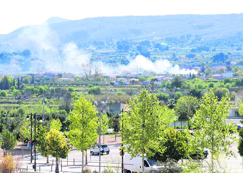 Incompleixen la prohibició de cremes agrícoles per l'estat d'alarma El Periòdic d'Ontinyent