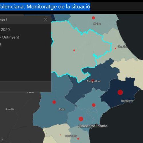 Conselleria actualitza a 25 morts i 207 contagiats a Xàtiva-Ontinyent