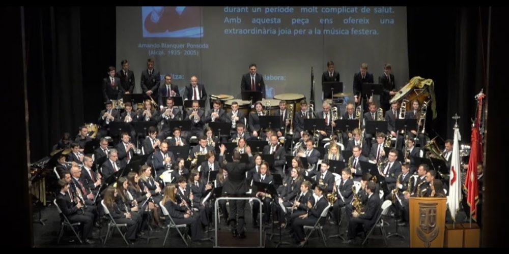 Concert Mig Any Fester 2020 Agrupació Musical Ontinyent