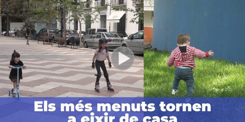 Els xiquets i xiquetes tornen als carrers