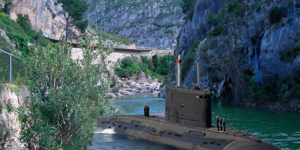 El ejército desmiente que dejase olvidado un submarino en el Pou Clar