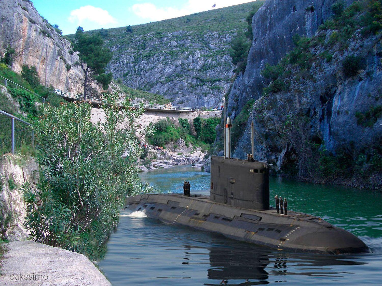 El ejército desmiente que dejase olvidado un submarino en el Pou Clar El Periòdic d'Ontinyent