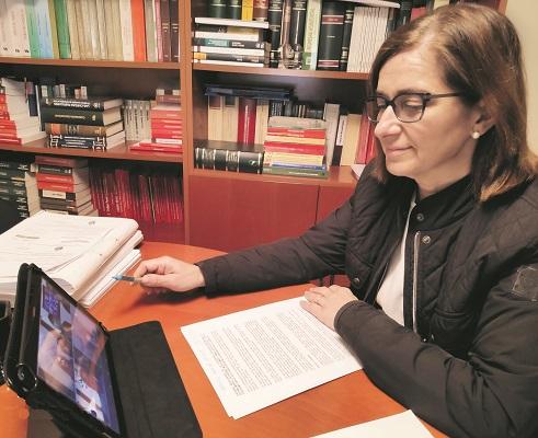 Mercedes Pastor destaca la necessitat d'agilitzar el Pla de Reactivació El Periòdic d'Ontinyent