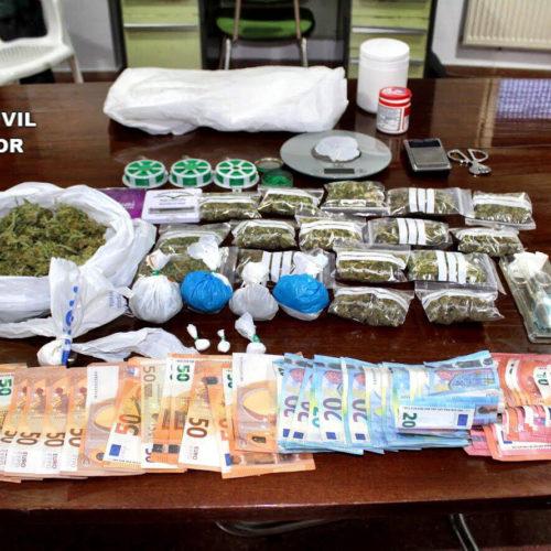 Detenen un home per tràfic de drogues a Llutxent