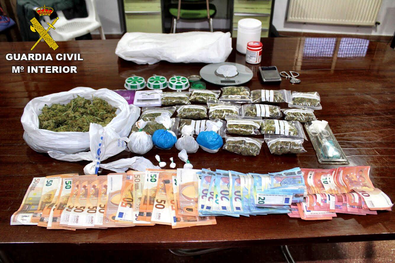 Detenen un home per tràfic de drogues a Llutxent El Periòdic d'Ontinyent
