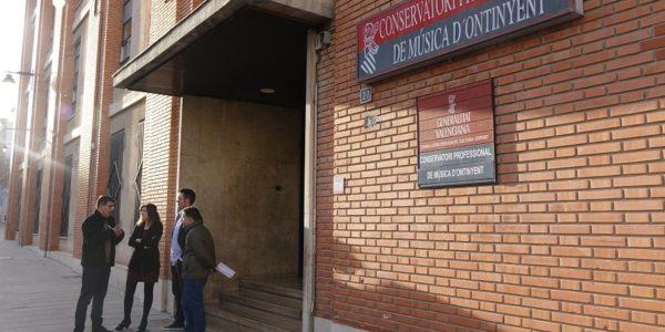 Educació invertirà més de 5 milions d'euros en la reforma del conservatori d'Ontinyent