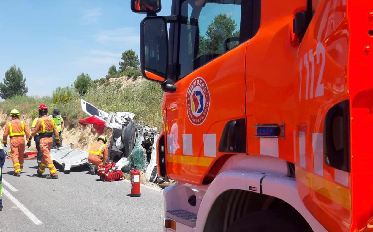 Dos accidents greus a les carreteres de Fontanars i El Palomar El Periòdic d'Ontinyent