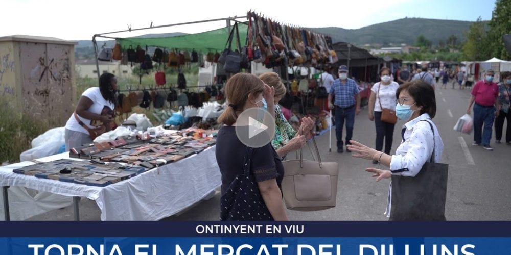 Torna el mercat del dilluns a Ontinyent