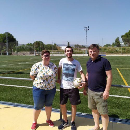 Pau Calatayud torna a casa per entrenar a l'equip Amateur Femení