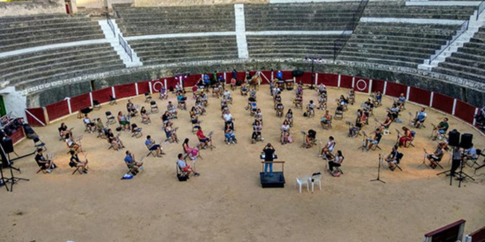 30 músics de Bocairent, confinats per possible contagi de Covid