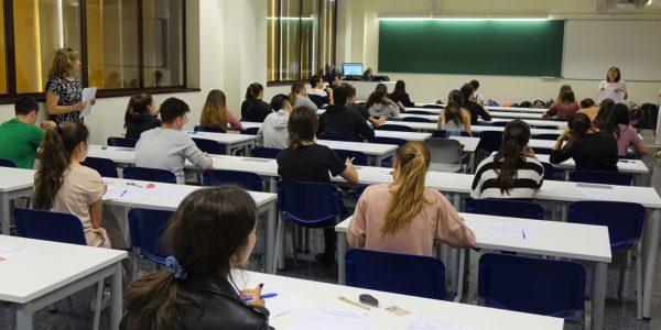 238 estudiants s'examinen de la PAU a instituts i col·legis d'Ontinyent