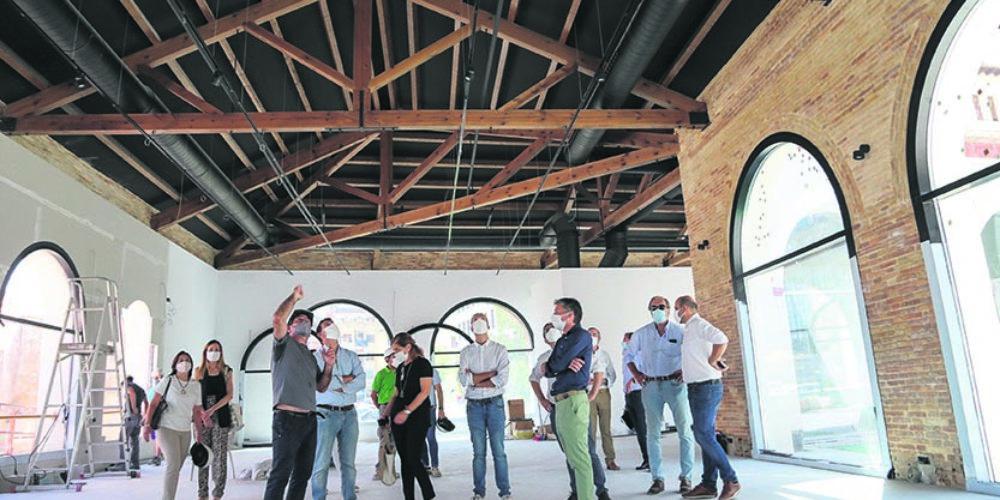 El Museu Tèxtil enceta nova fase d'obres i avança cap a la seua apertura