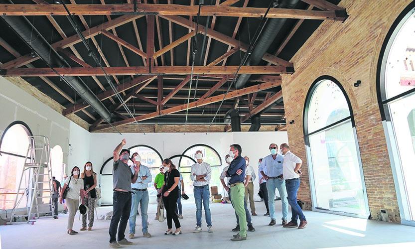 El Museu Tèxtil enceta nova fase d'obres i avança cap a la seua apertura El Periòdic d'Ontinyent