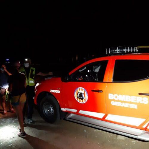 Els Bombers rescaten a dos senderistes