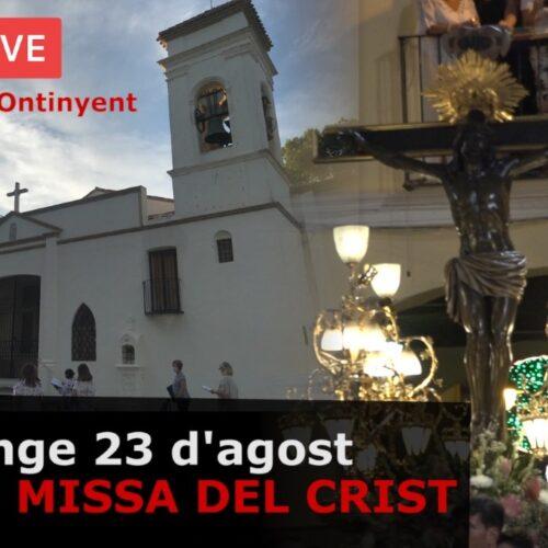 Missa del Crist, diumenge matí, en directe a través de El Periòdic d'Ontinyent