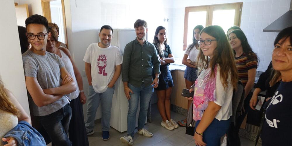 8 universitaris accedeixen a la residència per a alumnes de La Vila