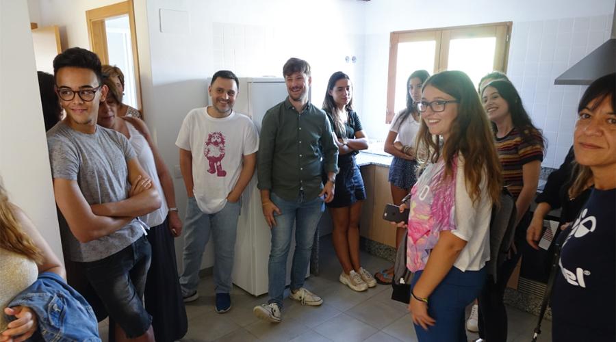 8 universitaris accedeixen a la residència per a alumnes de La Vila El Periòdic d'Ontinyent