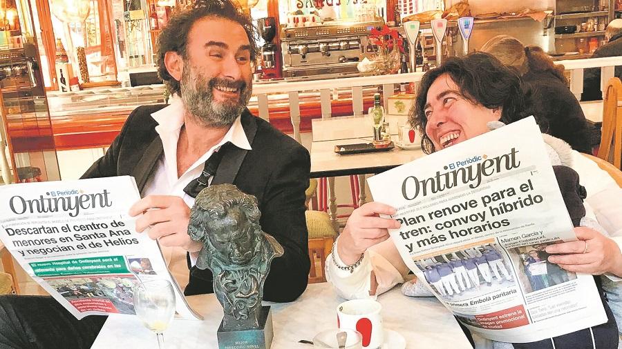 Jorge Calatayud, en el retrobament de José Coronado i Belén Rueda El Periòdic d'Ontinyent - Noticies a Ontinyent