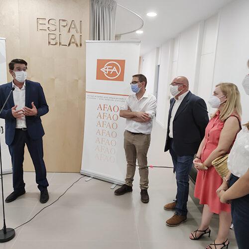 Ontinyent celebra el dia de l'Alzheimer inaugurant un nou centre