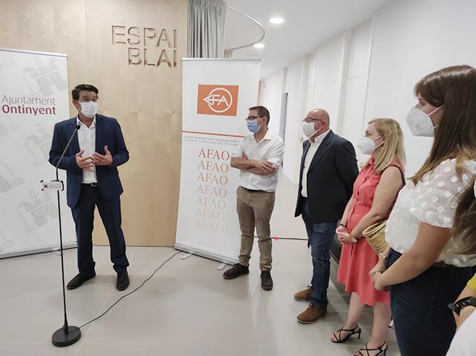 Ontinyent celebra el dia de l'Alzheimer inaugurant un nou centre El Periòdic d'Ontinyent
