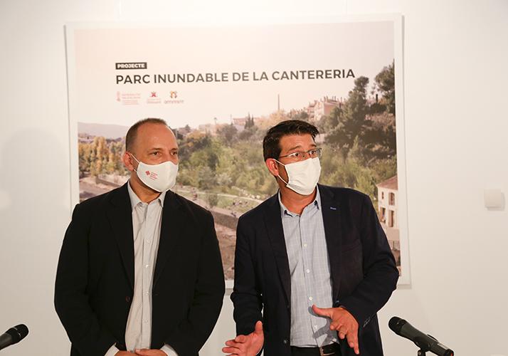 Signat el conveni per enderrocar part de la Cantereria i crear un parc inundable El Periòdic d'Ontinyent