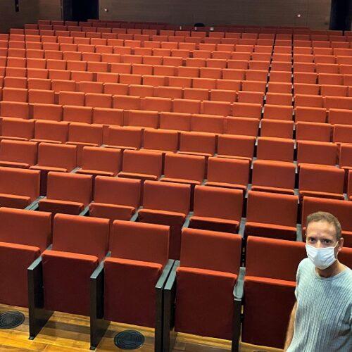 Reobri el Teatre Echegaray i la Sala Gomis amb aforament reduït i mesures de seguretat