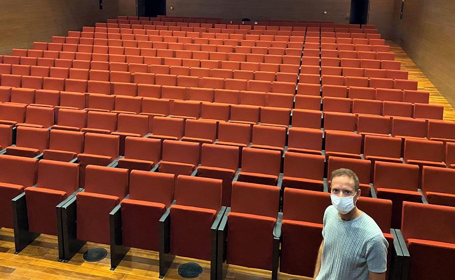 Reobri el Teatre Echegaray i la Sala Gomis amb aforament reduït i mesures de seguretat El Periòdic d'Ontinyent