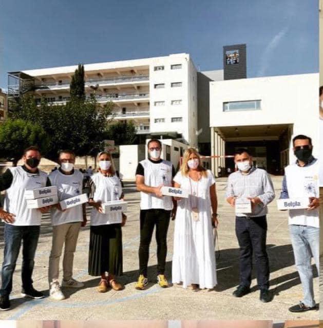 El Rotary Club d'Ontinyent distribueix 11.000 mascaretes entre els centres escolars El Periòdic d'Ontinyent