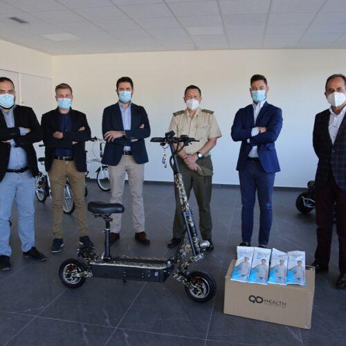 L'exèrcit s'interessa pels patinets i màscares de QD