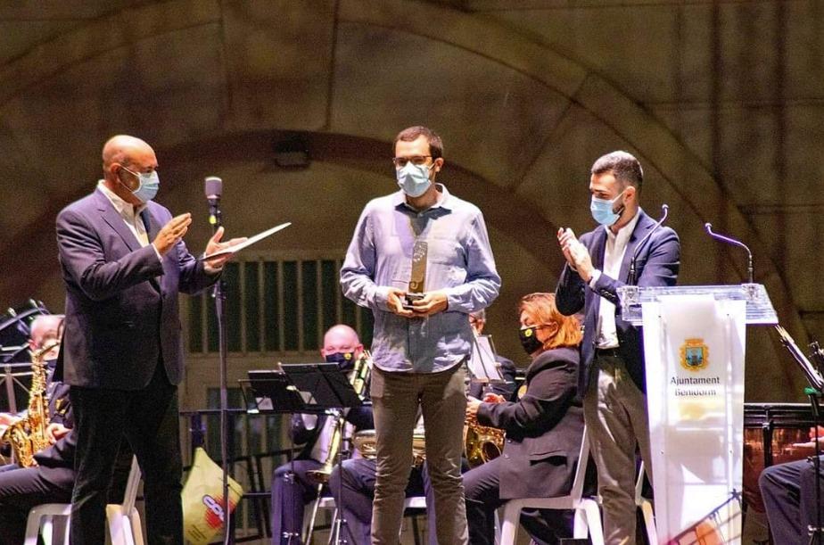 Rubén Penadés guanya el Concurs de Composició Musical de Benidorm El Periòdic d'Ontinyent