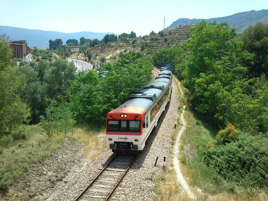 El bus que s'emprarà durant les obres de la línia Xàtiva-Alcoi pararà en el casc urbà El Periòdic d'Ontinyent