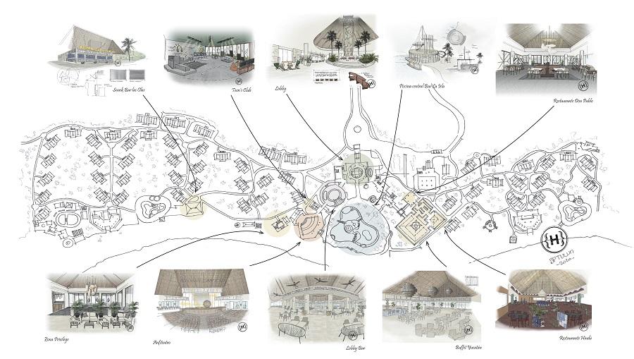 EstudiHac dissenya un hotel de cinc estreles en la Riviera Maya El Periòdic d'Ontinyent
