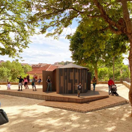 Instal·laran biblioparcs en zones verdes