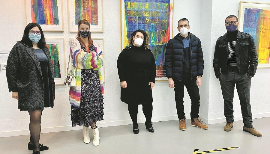 Una galeria d'art professional al Carrer Major El Periòdic d'Ontinyent