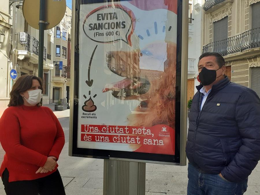 Inicien la campanya 'Si tens un gos, tens una responsabilitat' per mantindre una ciutat neta El Periòdic d'Ontinyent