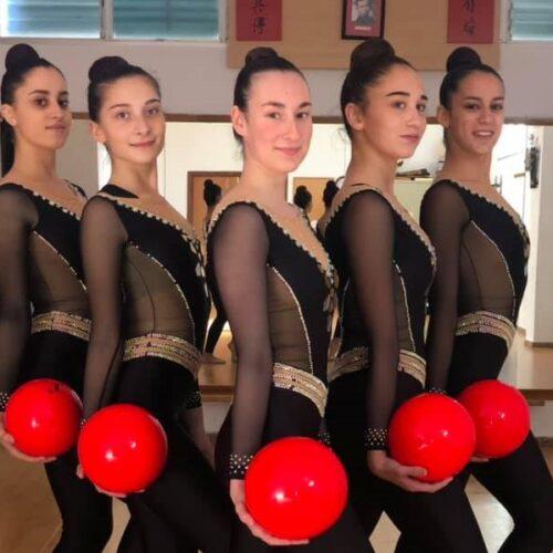 Les gimnastes ontinyentines en desavantatge per al Campionat d'Espanya