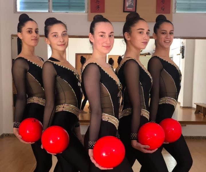 Les gimnastes ontinyentines en desavantatge per al Campionat d'Espanya El Periòdic d'Ontinyent