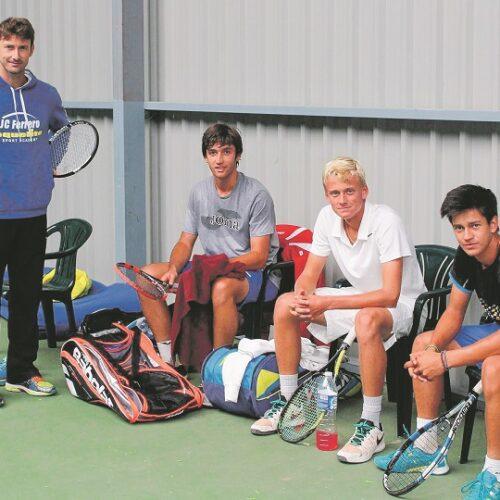 Juan Carlos Ferrero, atrapat a Melbourne
