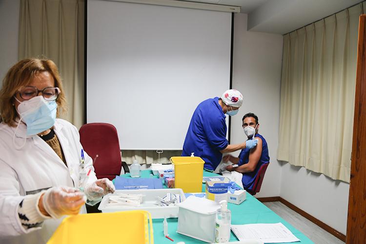 Ontinyent comença a vacunar El Periòdic d'Ontinyent