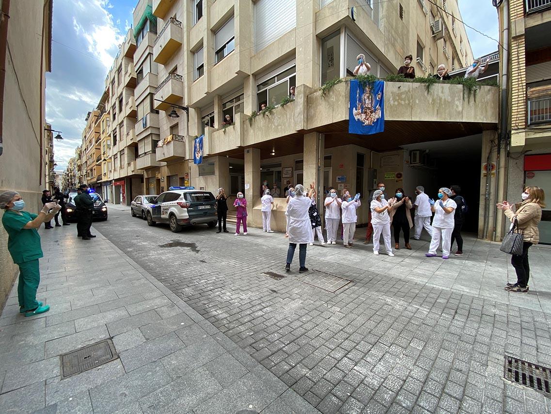La vacuna arriba a les tres residències de majors El Periòdic d'Ontinyent