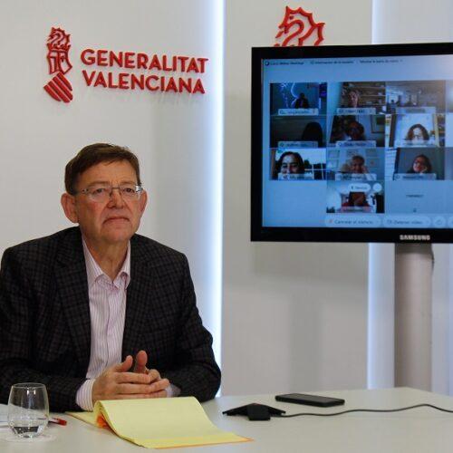 Ximo Puig anuncia una nova pròrroga de les actuals mesures contra la Covid-19